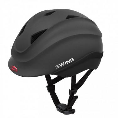 Dětská helma SWING K4 černá matná