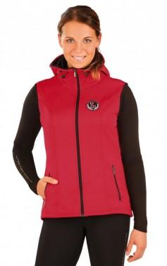 Dámská softshell vesta s kapucí Litex