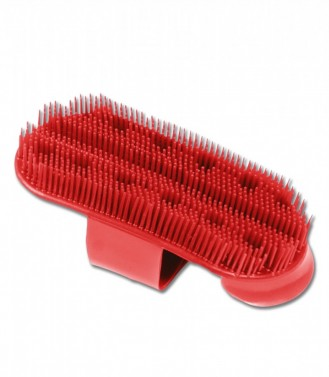 Velké masážní hřbílko Waldhausen červená