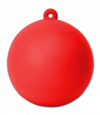 Míč na hraní PlayBall červená