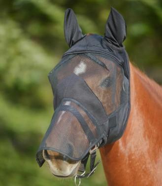 Maska proti hmyzu s nosem Premium Waldhausen černá