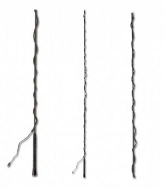 Lonžovací bič skládací Waldhausen černá