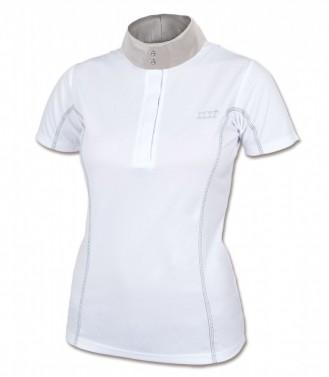 Dámské závodní triko Lydia ELT bílá/stříbrná