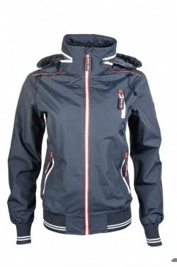 714c929c2215 Dámská fleece mikina International HKM tm.modrá