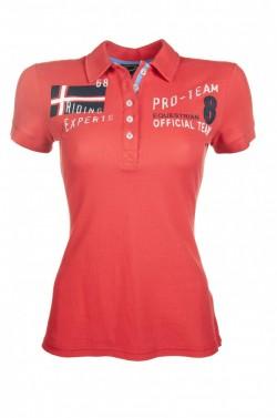 Dámské polo tričko International HKM červená