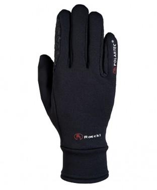 Zimní jezdecké rukavice Warwick Roeckl černá