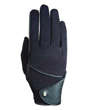 Dětské zimní jezdecké rukavice Madison Junior Winter Roeckl černá