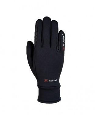Dětské zimní jezdecké rukavice Warwick Junior Roeckl černá