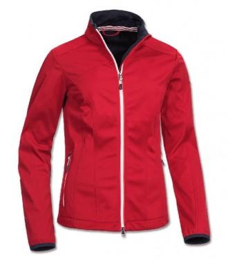 Dámská softshellová bunda Nadine ELT červená