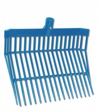 Místovací vidle spodní díl Waldhausen azurová modrá
