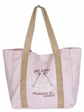 Plážová taška 55x40 cm HKM růžová