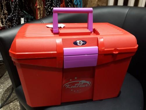 Box na čištění KenTaur červená/fialová