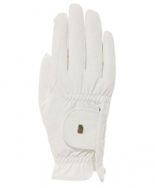 Jezdecké rukavice Roeck-Grip Roeckl bílá