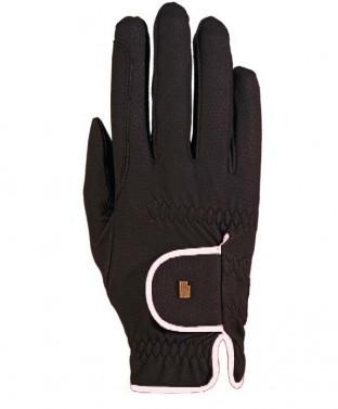 Jezdecké rukavice Lona Roeckl černá/bílá
