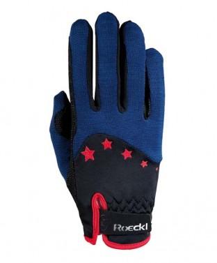 Dětské jezdecké rukavice Toronto Roeckl modrá