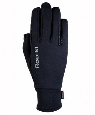 Zimní jezdecké rukavice Weldon Roeckl černá