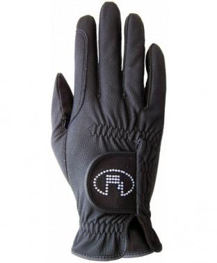 Jezdecké rukavice Lisboa Roeckl černá