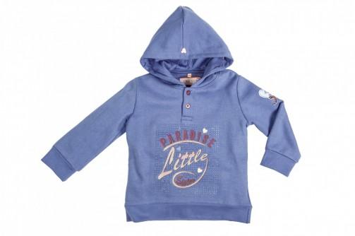 Dětská mikina s kapucí Paradiso HKM modrá 904e3c4e16
