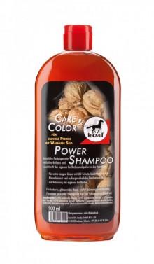 Šampón pro tmavé koně Power LEOVET 500 ml