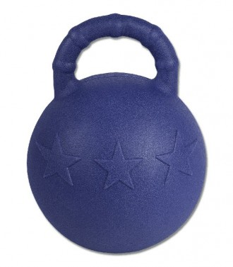 Míč na hraní Fun Ball Waldhausen modrá