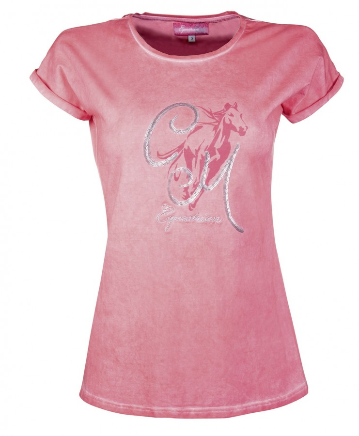 680be5c80318 Dámské tričko Rimini HKM růžová