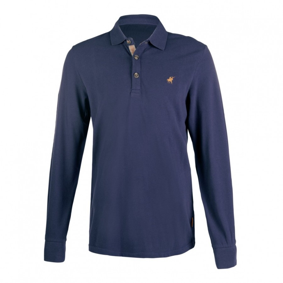 Pánské polo tričko s dlouhým rukávem Trentino HKM  20c6ffc8ef