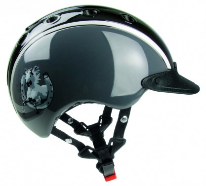 Dětská helma CASCO Nori šedá