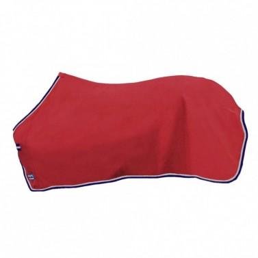 Odpocovací deka Madrid HKM červená