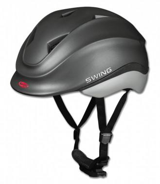 Dětská helma SWING K4 černá s motýlem