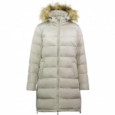 79a6c1f92 Dámský zimní polstrovaný kabát Lenore Horze písková