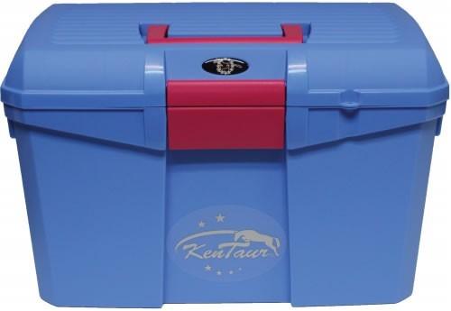 Box na čištění KenTaur světle modrá/růžová